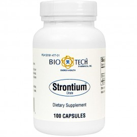BioTech Pharmacal - Strontium Citrate - 100 Count