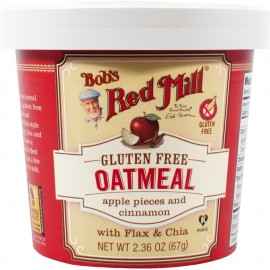 Bob's Red Mill - Gluten Free Oatmeal Cup Apple & Cinnamon (Pack of 12)