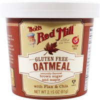 Bob's Red Mill - Gluten Free Oatmeal Cup Brown Sugar & Maple (Pack of 12)