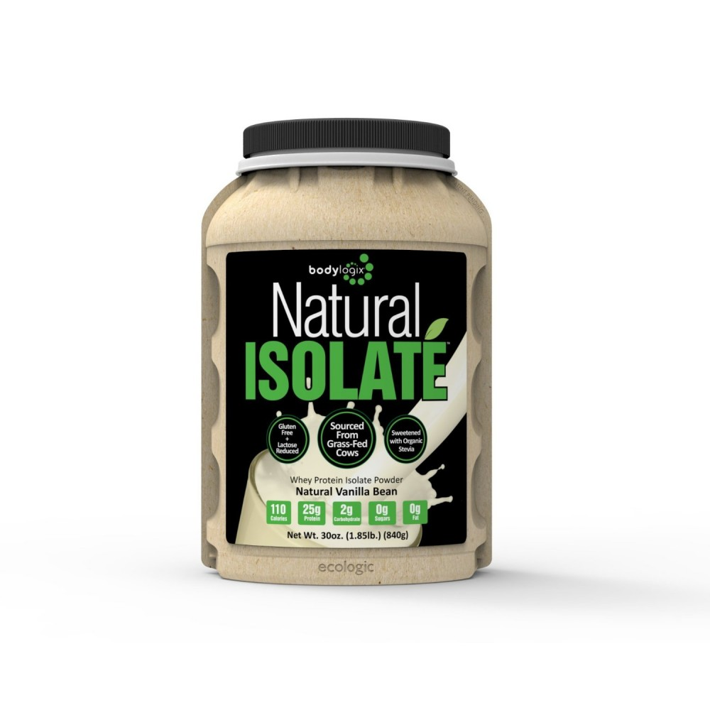 Natural Isolate Whey Protein Bodylogix Review