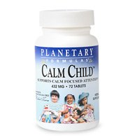 Calm Child Planetary Herbals 72 Tabs