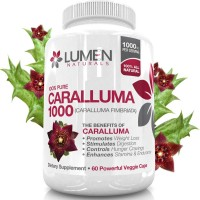 Caralluma Fimbriata Extract 1000mg for Weight Loss - Shown to Burn Fat & Suppress Hunger - Non-Stimulant Appetite Suppressant Supplement to Boost Metabolism - 60 Powerful Capsules