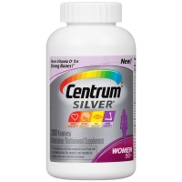 Centrum Silver, For Women 50+, 200-Count Bottle