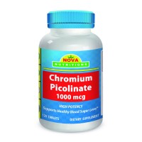 Chromium Picolinate 1000 mcg 120 Tablets by Nova Nutritions