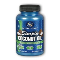 Coconut Oil Simply Natural Sport 60 VCaps