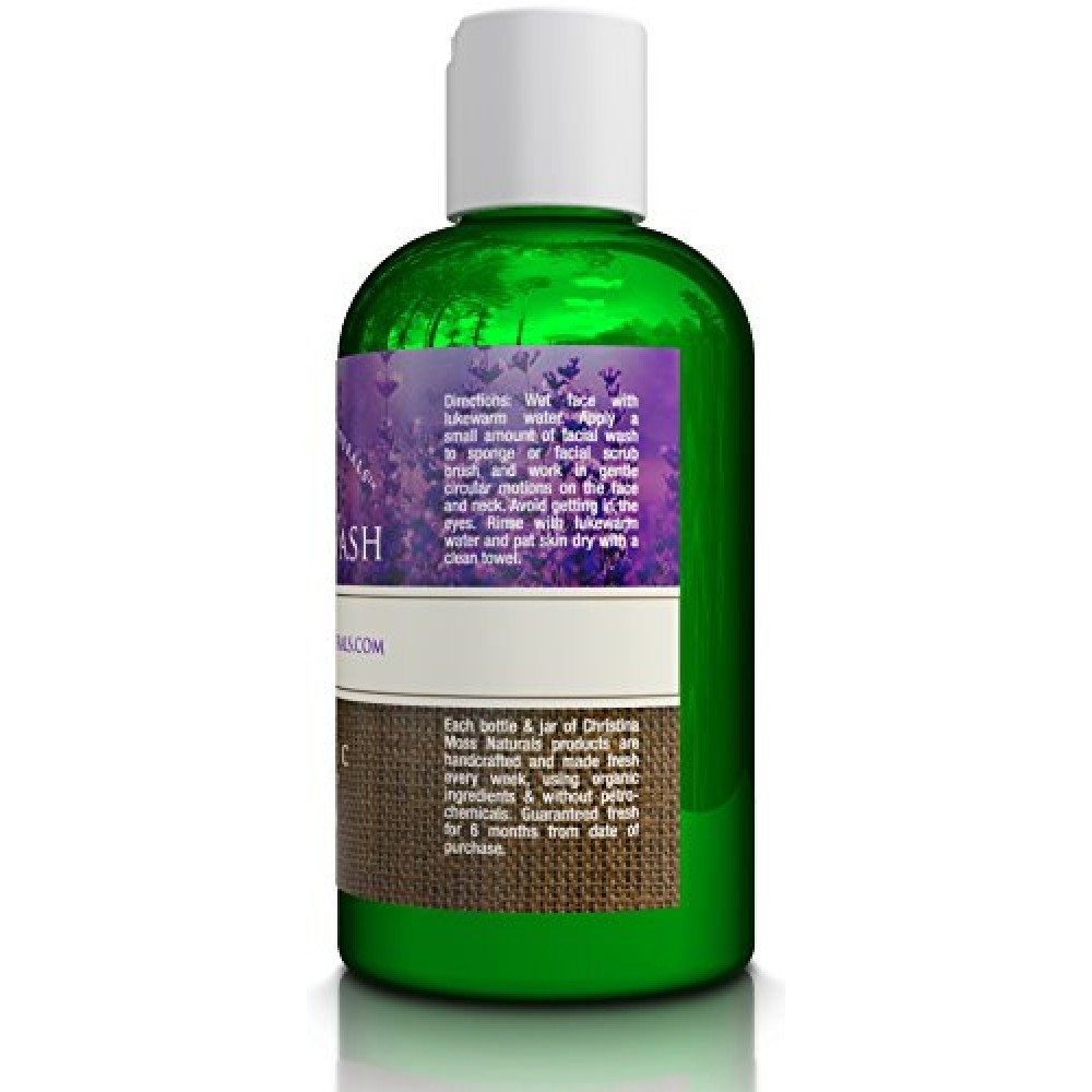 Christina Moss Naturals Organic Face Wash For Acne