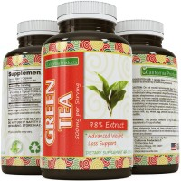Green Tea Weight Loss Pills - Burn Belly Fat - Vegan Supplements For Men And Women - Contains 350 mg EGCg With Antioxidant And Polyphenols To Complement Your Weight Loss Plan By California Products