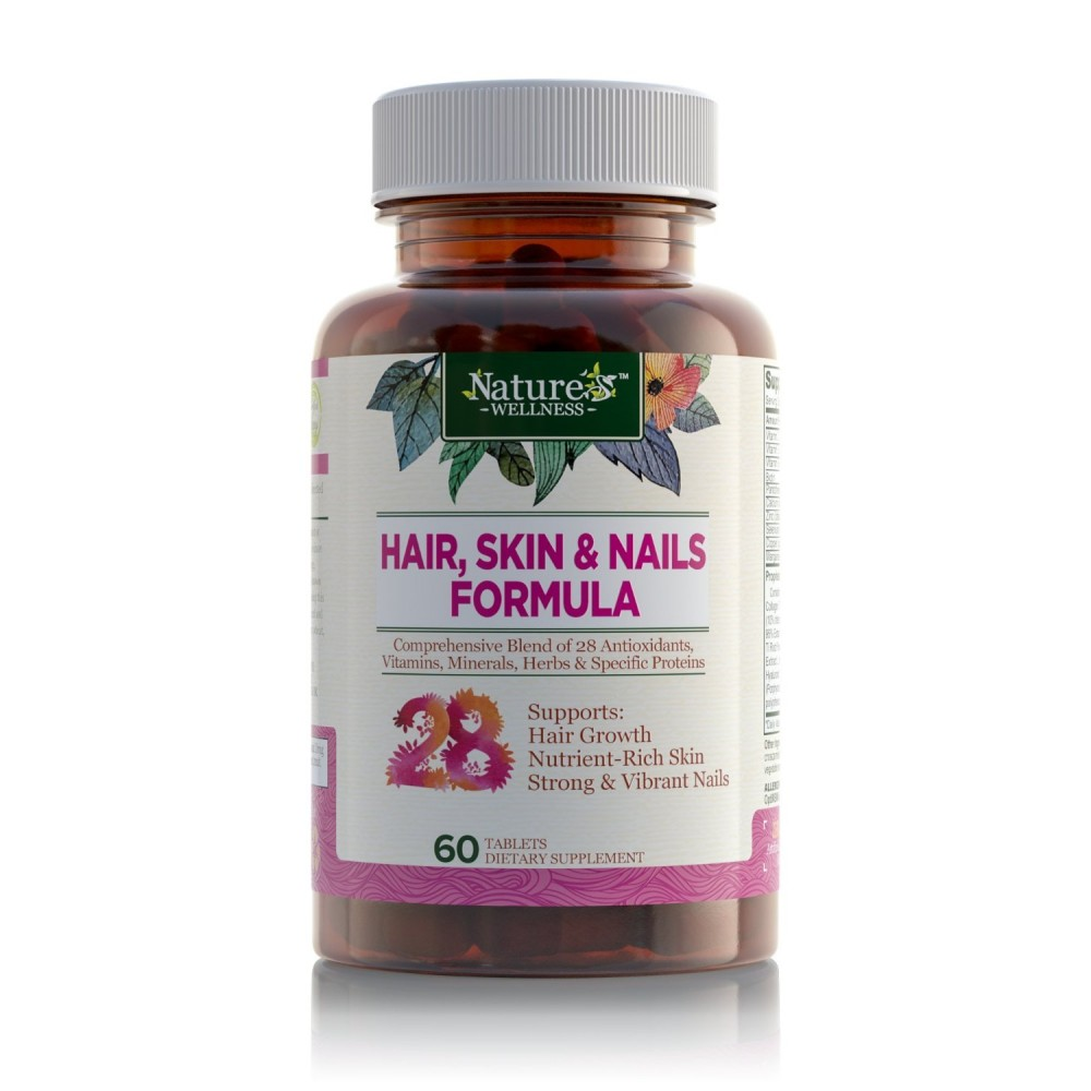 Natural Hair Skin And Nails Vitamins