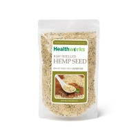 Healthworks Hemp Seed Raw Shelled Natural Grown and Pesticide-Free, 2lb