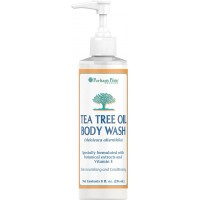 Herbal Authority Tea Tree Oil Body Wash-8 Oz. Face Wash