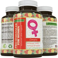 Herbal Libido Booster for Women – Natural Supplement to Stimulate Sexual Arousal - Horny Goat Weed Extract with Maca Root and Tongkat Ali Root Powder – Fast Acting for Increased Performance & Desire