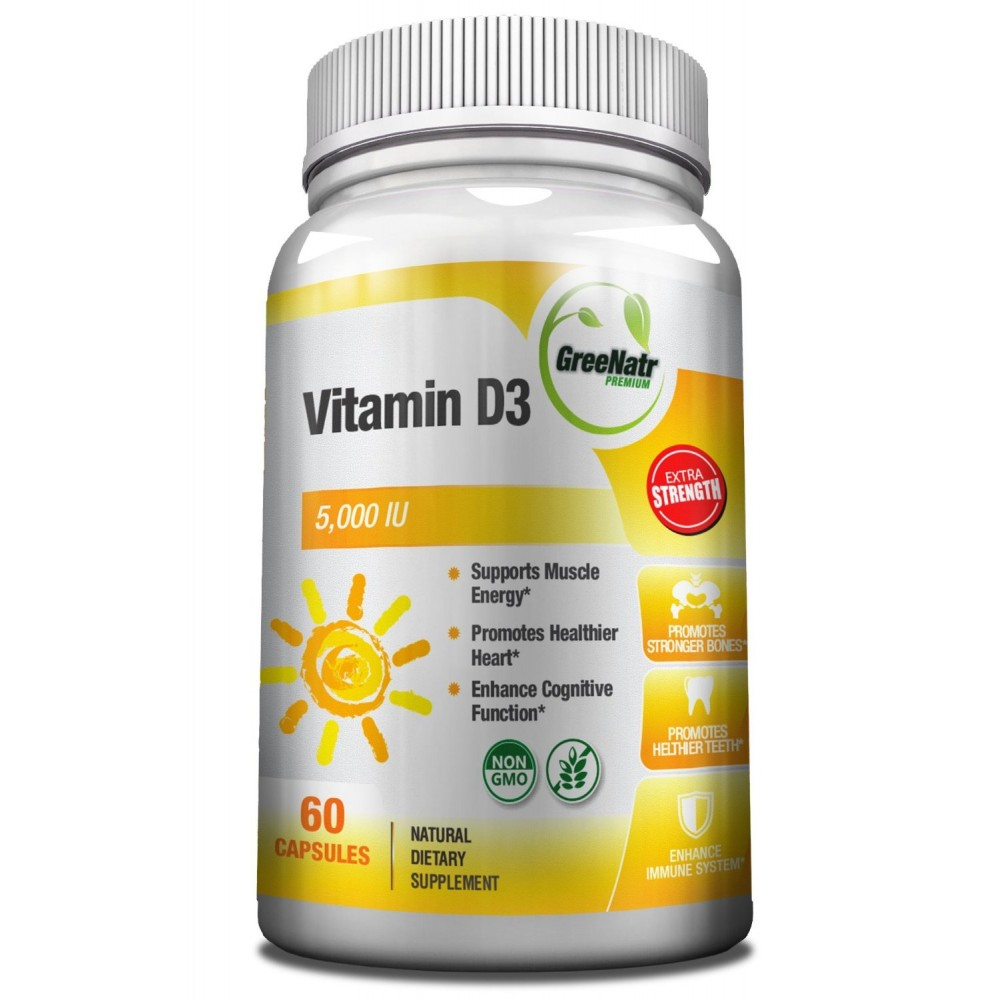 Buy herbal supplements 1000 count capsules - High Absorption Vitamin D3 5000 Iu Supplement 60 Day Supply 5000 Iu Vitamin D Non Gmo Gluten Free Made In The Usa From Greenatr 60 Count Vitamin D