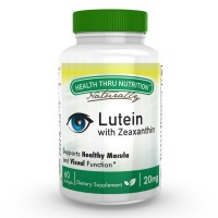 Health Thru Nutrition High Potency 20mg Lutein (as Lutemax® 2020) - 60 Mini Softgels