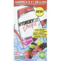 Hydroxycut Weight Loss Drops, Fruit Punch, 1.6 Ounce