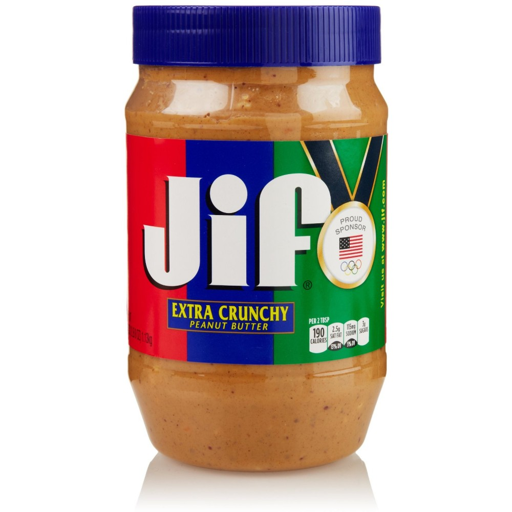 Buy Jif Extra Crunchy Peanut Butter, 40 Oz Online India