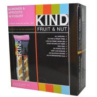 Kind Fruit And Nut Bars Almond And Apricot with Yogurt -- 12 Bars