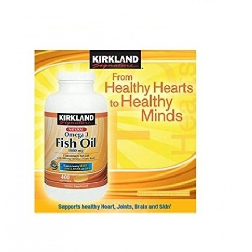 Buy kirkland signature fish oil concentrate with omega 3 for Omega 3 fatty acid fish