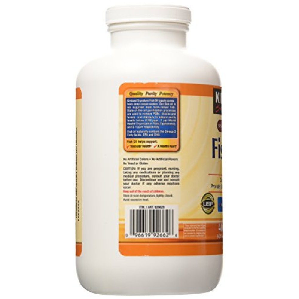 Buy kirkland signature fish oil concentrate with omega 3 for Kirkland fish oil review