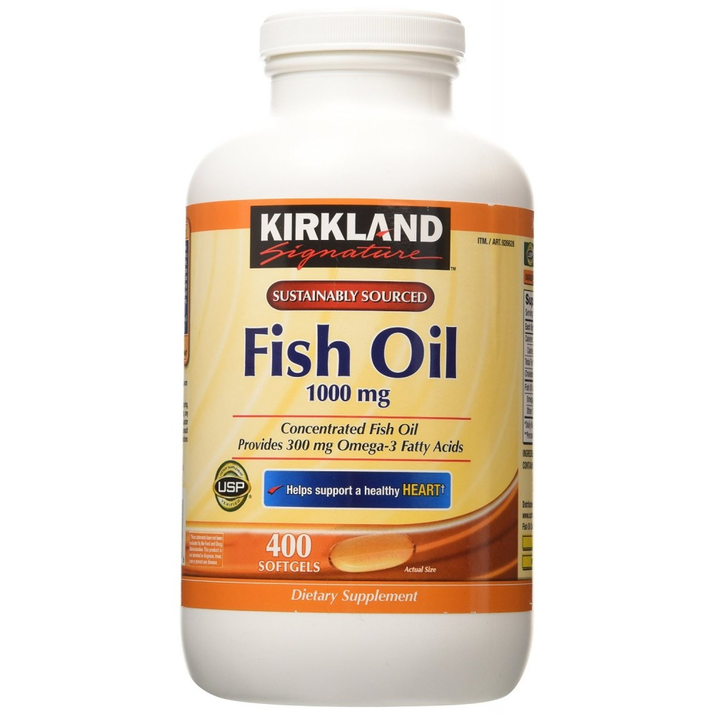 buy kirkland signature fish oil concentrate with omega 3