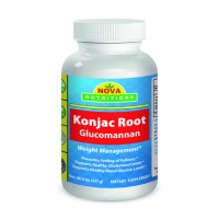 Konjac Root Glucomannan 100% Pure Powder - 8 oz by Nova Nutritions