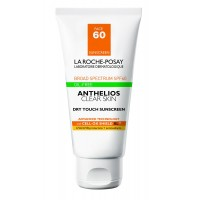 La Roche-Posay Anthelios Dry Touch Clear Skin Facial Sunscreen for Oily Skin with SPF 60, 1.7 Fl. Oz