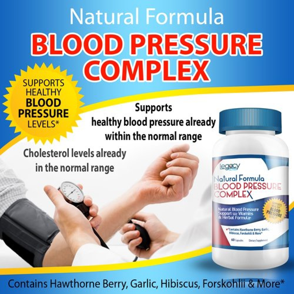Natural products for high blood pressure
