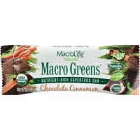 MacroLife Naturals Macro Greens Bar - Chocolate Cinnamon 12 Bar(S)
