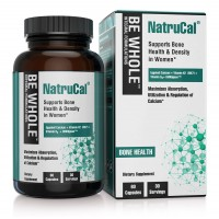 NatruCal: Supports Bone Health & Density in Women - Synergistic Formulation Combining Egg Shell Calcium, Vitamin D3, Vitamin K2 (MK7) & HMR Lignans - Maximizes Absorption & Utilization of Calcium