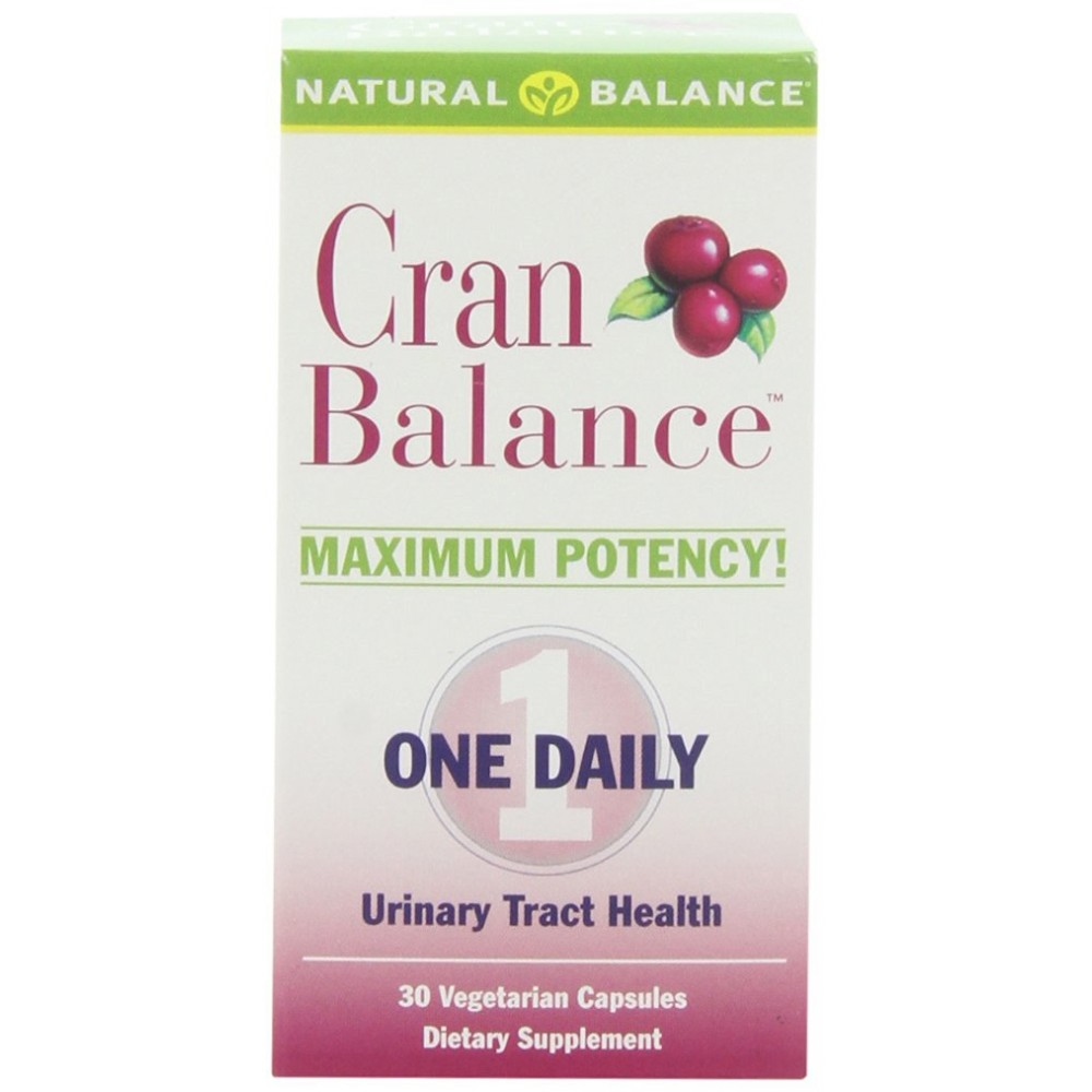 Buy herbal supplements 1000 count capsules - Natural Balance Cranbalance Cranberry Supplement 30 Count