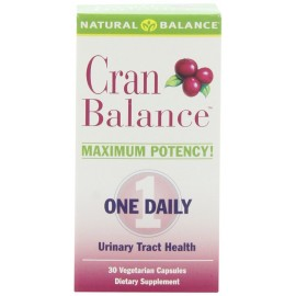 Natural Balance Cranbalance (Cranberry Supplement), 30-Count