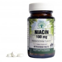 Natural Nutra, Niacin (Vitamin B3) Supplement, Low Flush, Time Release, 100 mg, 100 Tablets