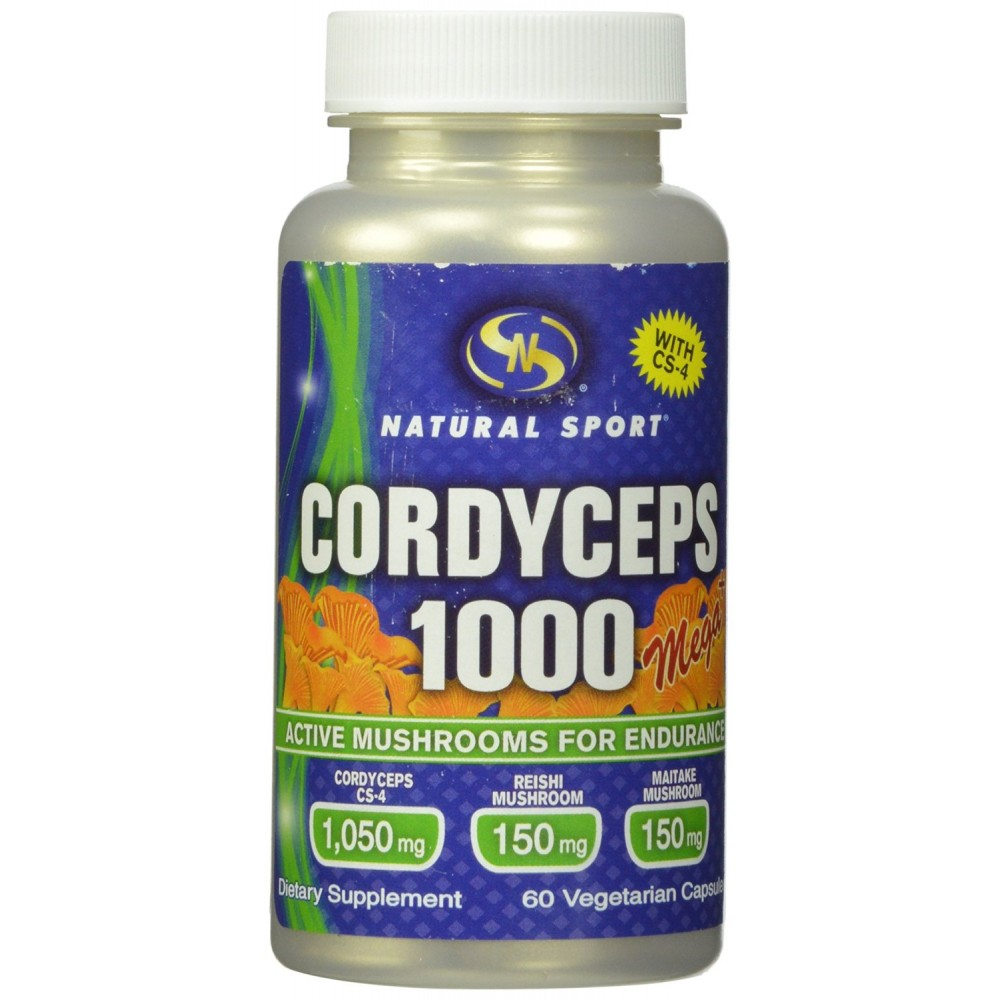 Buy herbal supplements 1000 count capsules - Natural Sport Cordyceps Capsules Extreme 625 Mg 60 Count