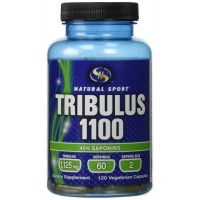 Natural Sport Tribulus 1100 Capsules, 120 Count