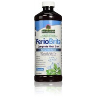 Nature's Answer PerioBrite Alcohol-Free Mouthwash, Wintermint, 16-Fluid Ounce