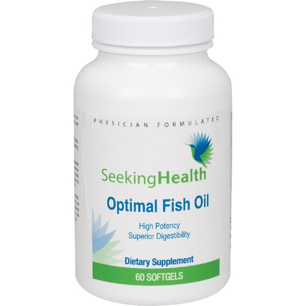 Easy to swallow fish oil