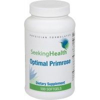 Optimal Primrose Oil |100% Organic, Unrefined Evening Primrose Seed Oil | 100 Easy-To-Swallow Softgels | Seeking Health