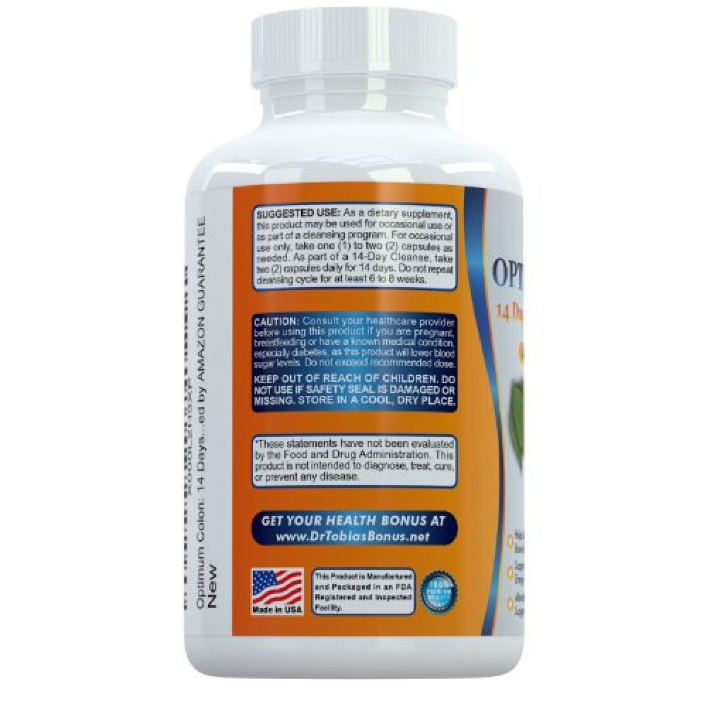 Buy Optimum Colon: 14 Days Quick Cleanse to Support Detox