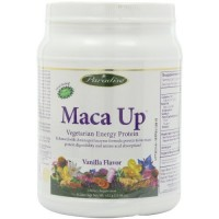 Paradise Herbs Maca Up Protein Powder, Vanilla, 420 Grams by Paradise Herbs