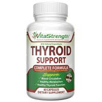 Premium Thyroid Support - Complete Formula to Help Weight Loss & Improve Energy with Iodine, Bladderwrack, Kelp, B12 & More -Best Thyroid Supplements for Hypothyroidism & Alternative to Armour Thyroid