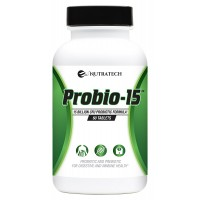 Probio-15 - Promote Digestive and Colon Health While Improving Immune function with this Powerful Probiotic and Prebiotic with Patented Ingredients.