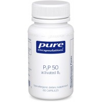 Pure Encapsulations - P5P 50 (Activated Vitamin B6) - Hypoallergenic Supplement to Support Metabolism of Carbohydrates, Fats, and Proteins* - 60 Capsules
