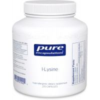 Pure Encapsulations - l-Lysine - Hypoallergenic Supplement Helps Maintain Healthy Arginine Levels and Immune Function* - 270 Capsules