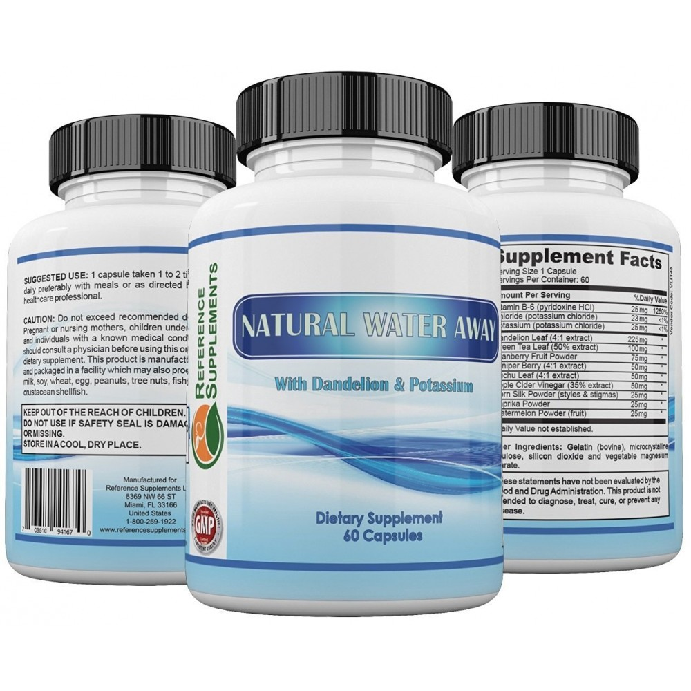 Water pills for water retention