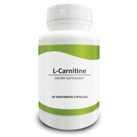 Pure Science L-Carnitine (L-Tartrate) 500mg - Supports Weight Loss, Optimizes Cellular Energy & Antioxidant Levels, Promotes Cognition - 50 Vegetarian Capsules of L-Carnitine Powder