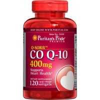 Puritan's Pride Q-Sorb CO Q-10 400 mg-120 Softgels