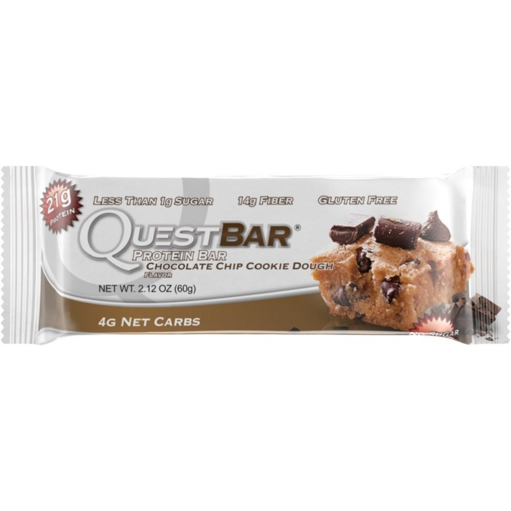 Quest Chocolate Chip Cookie Dough Nutrition
