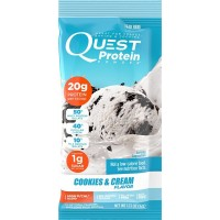 Quest Nutrition Protein Powder, Cookies and Cream, 12 Count