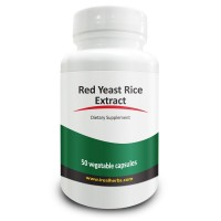 Real Herbs Red Yeast Rice 1500mg - Highest Dosage Per Serving on Amazon - Supports Cardiovascular and Immune Health - 50 Vegetarian Capsules