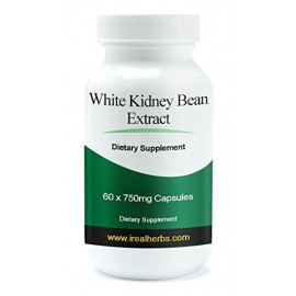 Real Herbs ● White Kidney Bean Extract Supplement ● 60 X 750mg Softgel Capsules - Carb Blocker
