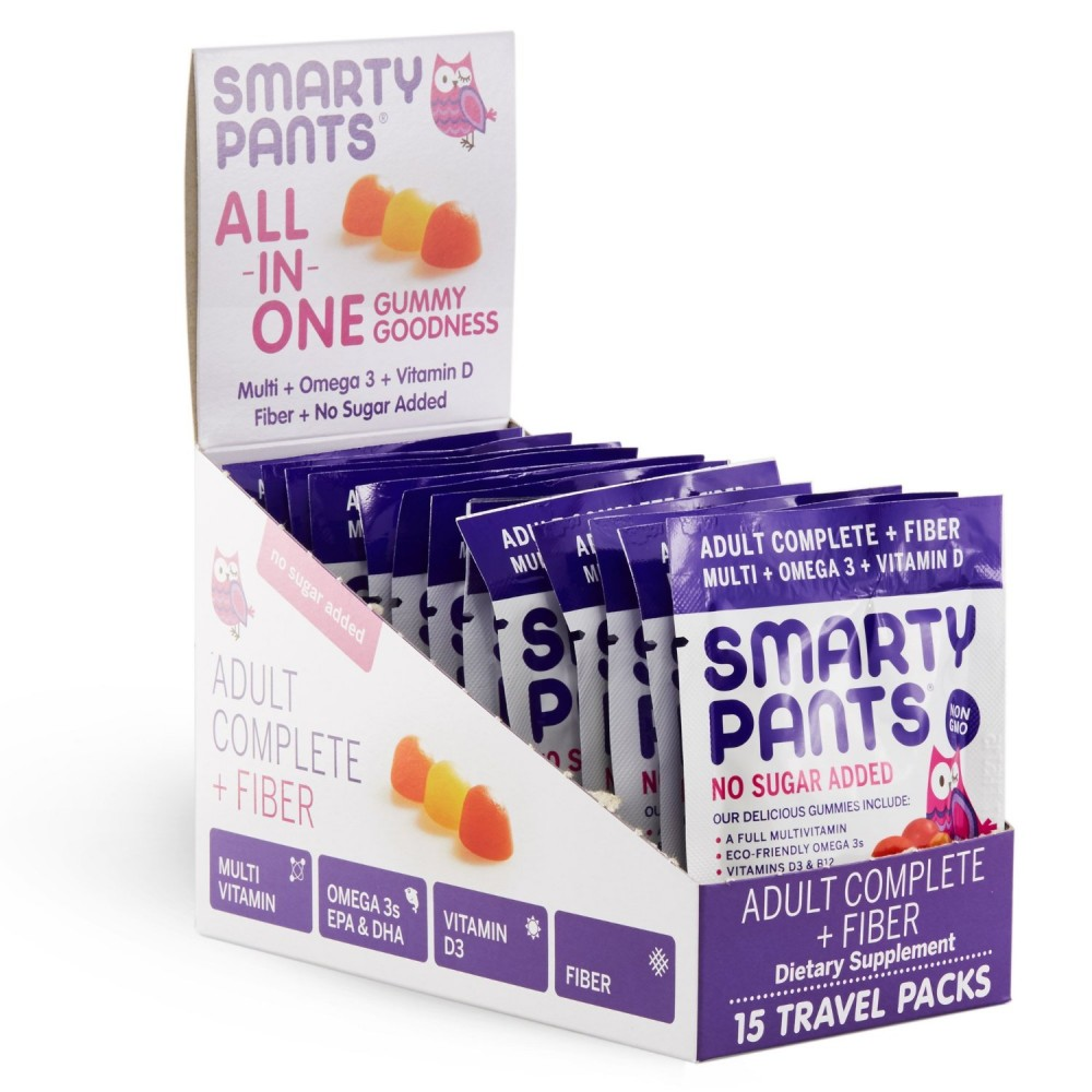 Buy smartypants adult complete fiber on the go gummy for Fiber in fish